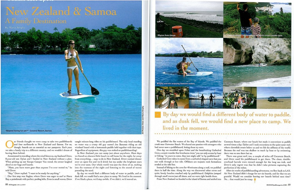 Stand Up Paddle Mag Fall Winter 09 Maria Brophy Article-small