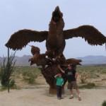 Sculptures in the Desert