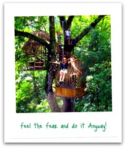 Feel the Fear and Do it Anyway - Zipline in Costa Rica