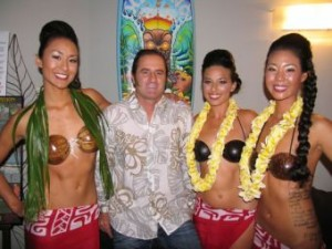 Hinano tahiti Fundraiser Drew Brophy and Dancers