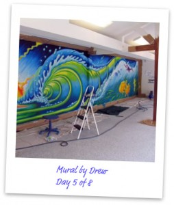 How To Paint A Wall Mural painting a wall mural: ten ways to please your client - maria brophy