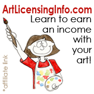 Learn how to earn an income licensing your art