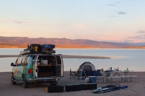 Brophy campsite at Yuba Lake Utah
