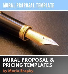 Artist resources maria brophy for Artist mural contract